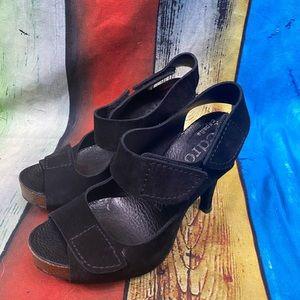 Pedro Garcia suede heels size 36